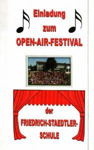 Open-Air-Festival Juli 2016